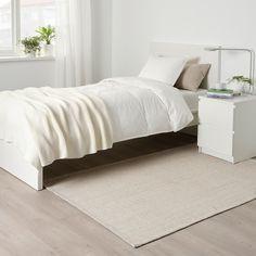Large & Medium Area Rugs - IKEA Lohals, Ikea Rug, Medium Rugs, Ikea Family, Types Of Flooring, Underfloor Heating, Large Rugs, Weaving, Beige