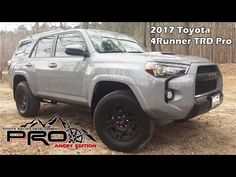 """/// NOTICE : This video is intended for a """"Mature Audience"""" only. \\\ 2017 Toyota TRD Pro in Cement color 2017 Toyota 4runner Limited, 2017 Toyota 4runner Sr5, Toyota 4runner Trd, Toyota 4runner Interior, Toyota Racing Development, Cement Color, Web Colors, Future Car, Trucks"""