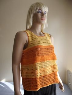 Missing Summer  CROCHET Sweater / Crochet TOP / by BilgesCreation, $75.00