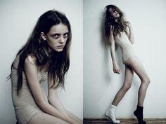 """Imogen Morris Clarke """"heroin chic"""""""