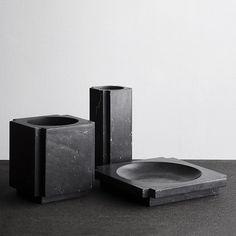 Michael Verheyden in Black marble in Studio Oliver Gustav #christmaswish #wish #michaelverheyden #studioolivergustav