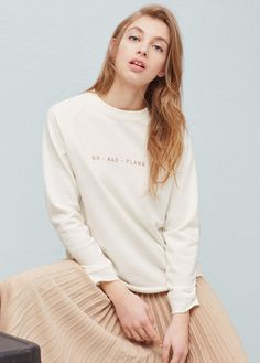 Sweat-shirts pour Femme | MANGO France