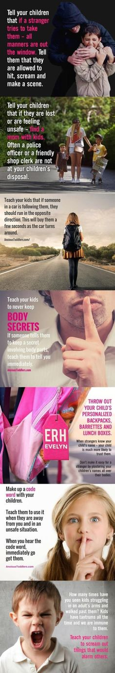 Tips for kids
