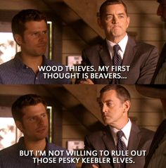 Psych {Shawn Spencer and Lassy} Psych Memes, Psych Quotes, Psych Tv, Tv Quotes, Psych Movie, Movie Quotes, Best Tv Shows, Best Shows Ever, Real Detective