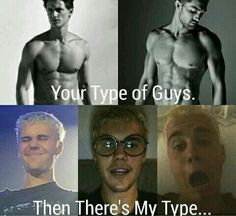 Yeah that's my boy. The other boys think only at the outside. Justin is so beautiful at the outside, but I love his personality. He is so sweet and the best!