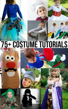75 costume tutorials   Baby/ Kid Ideas   Pinterest