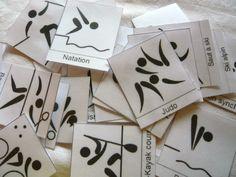 cartes à mimer, jeu de mimes sports olympiques