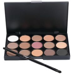 GET $50 NOW | Join RoseGal: Get YOUR $50 NOW!http://www.rosegal.com/make-up/15-colors-girl-makeup-natural-eye-shadow-palette-with-brush-506045.html?seid=7706795rg506045