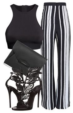 """Untitled #149"" by styledbyrudy ❤ liked on Polyvore featuring Balmain, H&M, Givenchy and Giuseppe Zanotti"