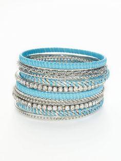 Cara Couture $95 #bangle #turquoise