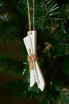 RM Ski Ornament