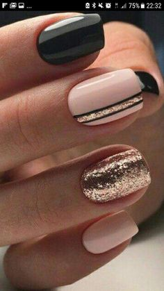 40 Stylish Easy Nail Polish Art Designs for This Summer for .- 40 Stylish Easy Nail Polish Art Designs for This Summer for 2019 – Page 33 of 40 40 Stylish Easy Nail Polish Art Designs for This Summer for 2019 Page 33 of 40 - Cute Nails For Fall, Cute Simple Nails, Perfect Nails, Pretty Nails For Summer, Nagellack Design, Nagellack Trends, Stylish Nails, Trendy Nails, Elegant Nails