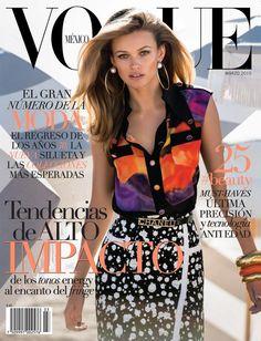 ea43ab9f52bd Vogue Mexico - Vogue Mexico March 2015 Covers Portadas De La Revista Vogue