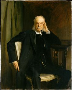 Henry G. Marquand - Gilded Age NYC Financier and art collector. Benefactor of the Metropolitan Museum of Art. ~ Portrait of Henry G. Marquand, by: John Singer Sargent. Sargent Art, Living In London, Chef D Oeuvre, Oil Painting Reproductions, Classical Art, Old Master, Metropolitan Museum, American Artists, Les Oeuvres