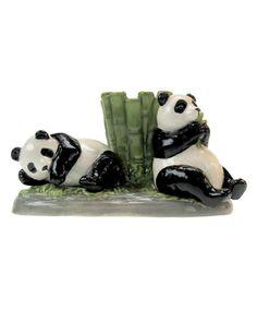 Loving this Pandas Three-Piece Shaker Set on #zulily! #zulilyfinds