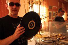 a vinyl record  - vintage Miss O!