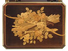 A FRENCH ORMOLU-MOUNTED KINGWOOD, AMARANTH, SYCAMORE AND AMBOYNA MARQUETRY AND PARQUETRY 'COFFRE A BIJOUX'   AFTER THE MODEL BY JEAN-HENRI RIESENER, BY HENRY DASSON, PARIS, DATED 1883   late 19th Century, Furniture & Lighting   Christie's