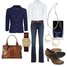 Classy Jeans, created by tajarl on Polyvore