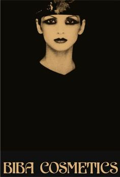 biba cosmetics poster | beauty editorial | beauty photography | makeup | 1930's style