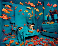 Revenge of the Goldfish - Sandy Skoglund