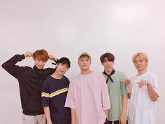 (left to right) Justin, Josh, Ken, Stell, Sejun. Chat Wallpaper Whatsapp, Korean Entertainment Companies, P Wave, Bridesmaid Dresses, Wedding Dresses, Filipino, Pop Group, Rapper, Songs