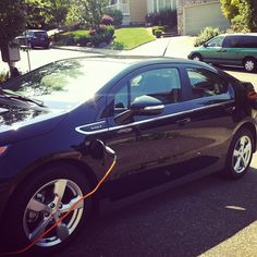 """""""Look what just arrived! my Chevy #Volt! Thanks @KloutPerks! Kids are already in the car, ready to test it out :)"""" -- via @urbanblissmedia"""