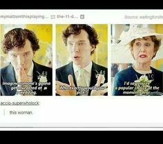 I love Mrs. Hudson