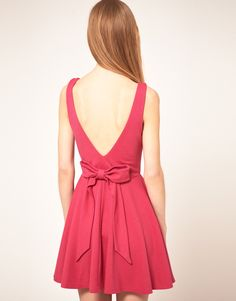 nothing cuter than a skater dress and a bow :)