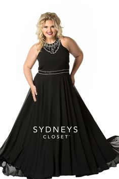 801f306ce7b Sydney s Closet Prom Pageant Homecoming Plus Size Formal Gown