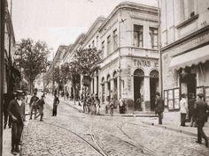 Ladeira da Avenida São João  Ano: 1910  Autor:Aurélio Becherini