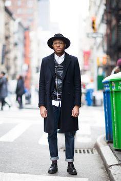 ストリートスナップニューヨーク - Romel alfredさん | Fashionsnap.com