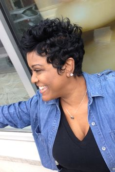 Short Hair Rules at Like The River Salon Atlanta!