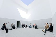 Chichu Art Museum by Tadao Ando - Susie Wong - Pineagle Tadao Ando, Museum Architecture, Concept Architecture, Ancient Architecture, Sustainable Architecture, Landscape Architecture, James Turrell, Alvar Aalto, Claude Monet