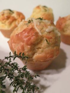 Les muffins au thym