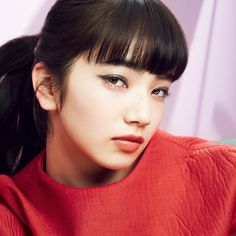 Komatsu Nana, Japanese Beauty, Shiseido, Fringes, Character Concept, Idol, Hair Beauty, Actresses, Pretty