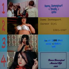 Which Dawn Davenport is your favorite? Divine (as Dawn Davenport) in John Waters' Female Trouble, 1974