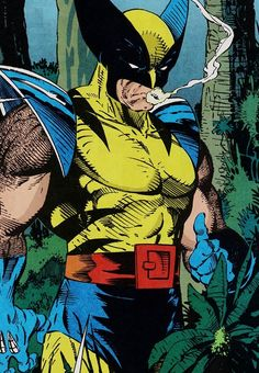 "The Smoking Wolverine in Spider-Man #10 (May 1991) ""Perceptions, Part III"" - Todd McFarlane & Gregory Wright"
