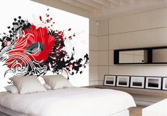 Modern bedroom artwork with picture1