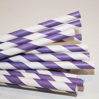 Paper Straws - Party Supplies and wholesale manufacturer of printed paper straws, Favor Bags and other modern trendy paper party goods