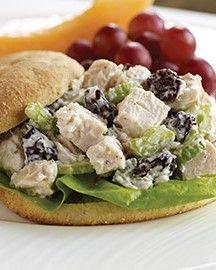 """""""Lighter"""" Chicken Salad Sandwich"""