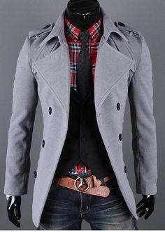 Original Captain Pea Coat - SLS Distributors Men's Boutique, LLC