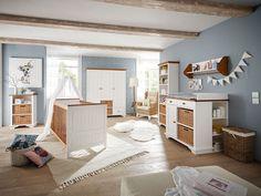 Lovely Babyzimmer Julia Massivholz wei braun jetzt online kaufen Preis ab Stand Pers nliche Beratung T V gepr ft Einfache Zahlung Unkomplizierter