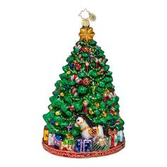 Christopher Radko Ornaments 2014 | Radko Christmas Tree Ornament Bejeweled and Bedazzled