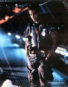 Aliens (1986) Michael Biehn as Colonial Marine Hicks.