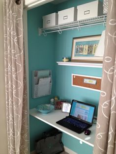 Closet Office Reveal!