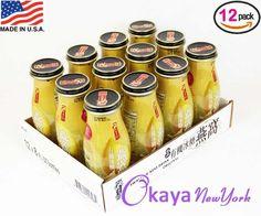 Genuine Swallow Nest Healthy Beverage ORIGINAL flavor by GOLDEN NEST 8oz. (240ml), Pack 12