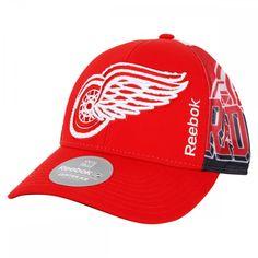 ed64b02dff5 Detroit Red Wings Reebok Structured Snapback Hat