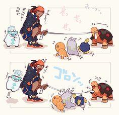 Pokemon Guzma, Pokemon Manga, Pokemon Ships, Pokemon Comics, Pokemon Funny, Pokemon Memes, Pokemon Fan Art, Pokemon Game Characters, Innocent Child
