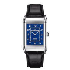 Jaeger-LeCoultre montre Reverso émail http://www.vogue.fr/mode/shopping/diaporama/cadeaux-de-noel-bleu-nuit/10911/image/650933#jaeger-lecoultre-montre-reverso-email