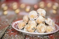 Quarkstollen-Konfekt Xmas Cookies, Cake Cookies, Christmas Cake Pops, Confectionery, Fritters, Truffles, Tis The Season, Christmas Time, Cereal